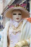 Italien Venedig karnevalmaskeringar Royaltyfria Foton