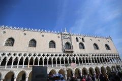 Italien Venedig Palazzo Ducale 20/10/2018 stockbilder