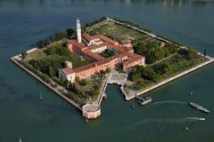 Italien, Venedig, San Lazzaro degli Armeni Insel stockbild