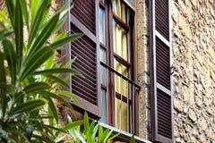 Italien Windows avec des volets Photo stock