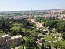 Italienare inhyser antennen Arkivbild