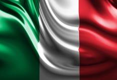 Italienare sjunker royaltyfri illustrationer
