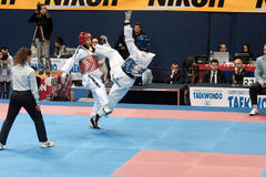 italienare taekwondo för 2009 mästerskap Royaltyfria Bilder