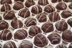 italienarebakelse för 2 choklad Fotografering för Bildbyråer