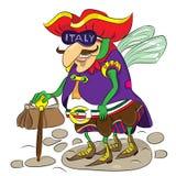 Italienareskalbagge Arkivbilder