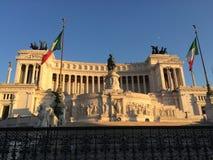 Italiener-Nationaldenkmal Vittorio Emanueles II Stockfotos