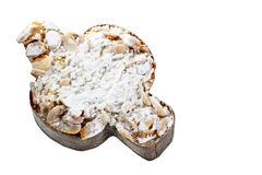 Italienerostern-Kuchen in der Form einer Taube Lizenzfreie Stockfotografie