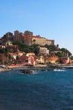 Italienimperia-Italiener Riviera Stockbilder