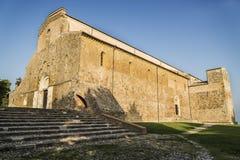 Italienische Abtei Stockfoto