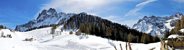 Italienische Alpe Lizenzfreies Stockfoto