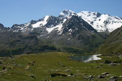 Italienische Alpen Stockbild