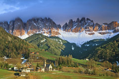 Italienische Alpen. Stockfotografie
