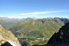 Italienische Alpen Lizenzfreie Stockfotografie