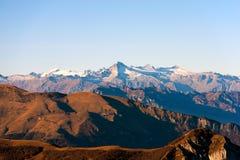 Italienische Alpen - Adamello-Gebirgsgruppe Stockbild