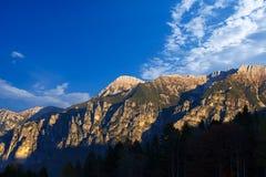 Italienische Alpen - Cima Dodici Stockbild