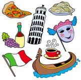 Italienische Ansammlung Stockfoto