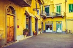 Italienische Architektur, Toskana Stockfotografie