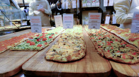 Italienische Bäckerei lizenzfreies stockfoto