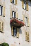 Italienische Balkone Stockfotos