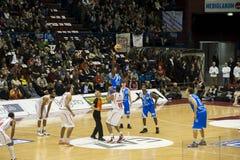 Italienische Basketballliga Lizenzfreies Stockfoto
