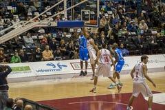 Italienische Basketballliga Stockfotos