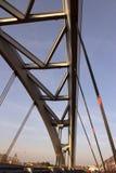 Italienische Brücke vor Sonnenuntergang Stockfotografie