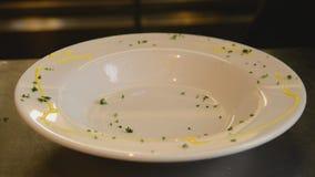 Italienische Chefküche stock video footage