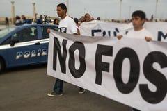 Italienische diplomatische San FOCA Diegos de Lorenzi kein Hahn Stockbild