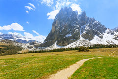 Italienische Dolomitlandschaft Stockbild