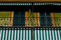 Italienische Fassade Lizenzfreies Stockbild