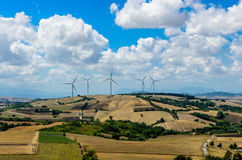 Italienische Felder Stockfotografie