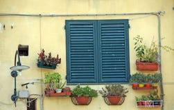 Italienische Fensterläden Stockfoto
