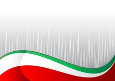 Italienische Flagge Lizenzfreies Stockbild