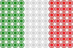 Italienische Flagge Stockfotos