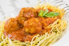 Italienische Fleischklöschen Lizenzfreie Stockbilder