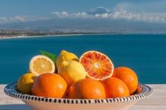 Italienische Früchte Lizenzfreies Stockfoto