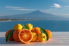 Italienische Früchte Stockbild