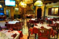 Italienische Gaststätte Lizenzfreie Stockfotos