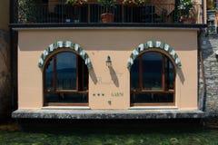 Italienische Gaststätte stockfotos