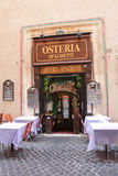 Italienische Gaststätte Lizenzfreies Stockbild