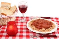 Italienische Gaststätte Lizenzfreie Stockfotografie