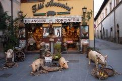 Italienische Gemischtwarenladen Stockbild