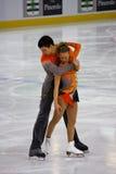 Italienische Gesamtes 2009 Abbildung Eislauf-Meisterschaften Stockbilder