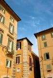 Italienische Häuser Stockbild