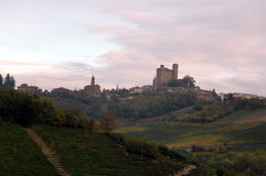 Italienische Hügellandschaft Stockfotografie