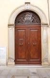 Italienische Haustür Stockfotos