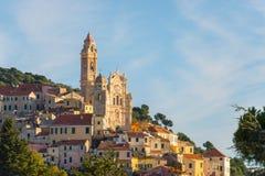 Italienische historische Stadt Stockfotografie