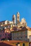 Italienische historische Stadt Stockfotos