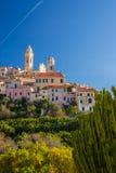 Italienische historische Stadt Lizenzfreies Stockbild