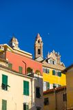 Italienische historische Stadt Lizenzfreies Stockfoto